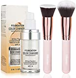 Foundation Color Changing,Concealer Cover, 30ml Concealer -Abdeckung Flawless Farbwechsel Warmer...
