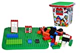 Simba 104114519 - Blox 500 Bausteine im Eimer, für Kinder ab 4 Jahren, Verschiedene Steine, 16...