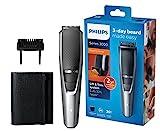 Philips Bartschneider Series 3000 BT3216/14, 20 Längeneinstellungen, 3-Tage-Bart einfach gemacht