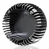 Spülbecken mit rundem Hitzeschutz