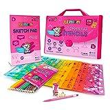 Mimtom Malschablonen für Kinder und Mädchen | 51-teiliges Bastel Schablonen Set mit über 270...