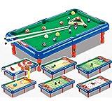 Tisch Kinderplastiktischbillardtisch Upgraded 7-in-1 Billardtisch Indoor Coole Spiele Jungen Und...