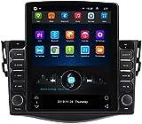 WYFWYT Autoradio Stereo Radio für Toyota RAV4 2006-2012 mit Android Doppel 2 Din Sat NAV 9,7 Zoll...