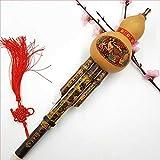 Yiwa Chinesisch Hand Hulusi Trinkflasche Cucurbit Flöte Musikinstrument Ethno C Schlüssel Bb Ton...