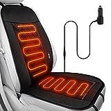 Auto Heizkissen ,Wilktop Sitzauflage mit Massage- und Heizfunktion, drahtlose Steuerung Massagesitz...