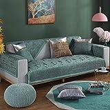 ENLAZY Modernes minimalistisches Chenille-Sofakissen nordische rutschfeste Couchbezge fr Hunde...