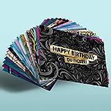 Lustige Geburtstagskarten - 18er Set FCK YOU CARDS