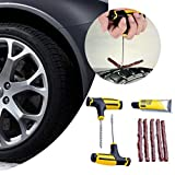 Alecony Tubeless Auto Bike Car Reifen Reifen Reifen Cement Tool Puncture Plug Repair Kit Auto...