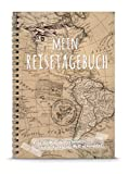 MEIN REISETAGEBUCH - Lass die Welt dich verändern DIY Reisebuch Tagebuch DIN A5 Ringbuch zum...