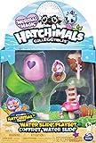 Hatchimals 6045503 - CollEGGtibles Spielset Wasserrutsche, mit exklusiver CollEGGtibles Mermal Magic...