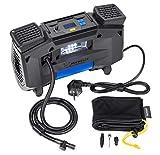 MICHELIN 62002 Luftkompressor 220v fürs Auto | Tragbar und Digital | Reifendruck Luft Kompressoren...