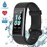 LIFEBEE Neuestes Modell Fitness Armband, Smartwatch Fitness Tracker mit Pulsmesser Schrittzhler Uhr...