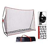 ZHRLQ Golf Hitting Net, 10x7ft Golf Net Geeignet für Fußball, Baseball, Softball Praxis...