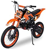 Actionbikes Motors Midi Kinder Jugend Crossbike JC125 125 cc - Hydraulische Scheibenbremsen - CDI...