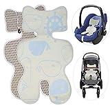 Atmungsaktive Sommer Sitzeinlage buggy sitzauflage sommer für Babyschale Universal Sitzauflage für...