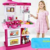 DRHYSFSA Kinderkche Kinderkochrollenspiele Spielzeug Pretend Kchenrollenspiel Spielzeug Kitchenwater...