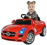 Actionbikes Motors Kinder Elektroauto Mercedes Benz AMG SLS - Lizenziert – Rc 2,4 Ghz...
