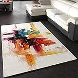 Paco Home Teppich Modern Splash Designer Teppich Bunt Brush Neu OVP, Grsse:200x290 cm