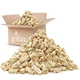 grillas Bio-Kaminanzünder und Grillanzünder 10 kg aus Holzwolle, in Wachs getränkt |...