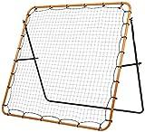 Stiga Rebounder Kicker 150 Fußball, Orange/Schwarz, 150 x 150 cm