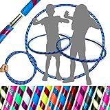 Unbekannt Pro Kids Hula Hoop Reifen fr Kleine Erwachsene und Kinder (10 Farben Ultra-Grip/Glitter...