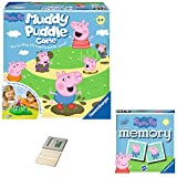 Price Toys Peppa Pig Spiele | Muddy Puddles Game and Memory Game (Muddy Puddles/Memory)