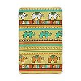 Hunihuni Tribal indisches Elefanten-Muster, Überwurf, leicht, warm, kuschelig, Plüsch, für Kinder...