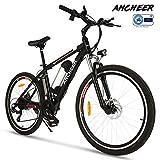 ANCHEER e Bike Elektrofahrrad Faltbares Mountainbike, 26 Zoll Reifen Elektrisches Fahrrad Ebike mit...
