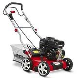 HECHT Benzin-Vertikutierer 5676 Rasen-Lüfter Briggs & Stratton Motorvertikutierer (3,3 kW (4,5 PS),...