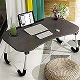 Astory Laptop-Betttisch, tragbar, Notebook-Ständer, Lese-Halter, Frühstückstablett mit klappbaren...