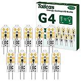 G4 LED Birne Warmweiss, 1.2W 12V LED Glühbirne 3000K Stiftsockellampe Ersatz für 10W Halogenlampen...