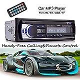 HaoGu Bluetooth Auto Audio Stereo eingebauter 12V FM Radio Receiver mit MP3 Player und...