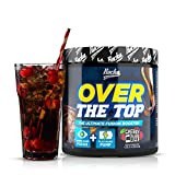 Rocka Nutrition OVER THE TOP Pre Workout Booster Fitness | 2in1 Pump Booster + Fokus Booster  240 g...