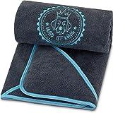 Premium Hundehandtuch extra saugfähig, ultra weich & flauschig, Hunde Handtuch aus...
