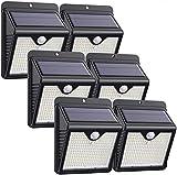 Solarlampen für Außen,【6 Stück】iPosible 150 LED Solar Bewegungsmelder Aussen 2000mAh...