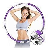 ORHOMELIFE Fitness Reifen Hoop für Erwachsene & Kinder, Gewichteter Reifen zur Gewichtsabnahme &...