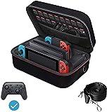 iVoler Tasche für Nintendo Switch, Deluxe Harte Tragetasche Schutz Portable Switch Schutzhülle...