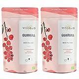 Bio Guarana Pulver Premium - ohne Zusatzstoffe aus 100% Guarana Samen - Macojo (500 g)
