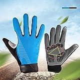 ZZWBOX Radfahren Handschuhe Winter Fahrradhandschuhe Winddicht Warm Touchscreen Handschuhe Outdoor...