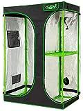 VITA5 Growbox 2-in-1 | Growzelt Zuchtschrank fr Pflanzenzucht zuhause | Lichtdicht Reifestes Tuch |...