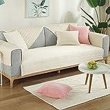 Sofabezug Sofahusse Sesselhusse mit Armlehne Couch überzug Abwaschbar Sofabezug 1 2 3 4...