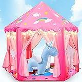 Fivejoy Unicorn Kinderspielzelt Mädchen Kinder Zelt, Princess Castle Spielzelt Für Kinder Mit 2...