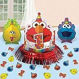 Elmo Tischdekoration zum 1. Geburtstag One Size Mehrfarbig