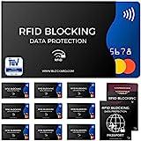 TV geprfte RFID Blocking NFC Schutzhllen (12 Stck) fr Kreditkarte, Personalausweis, EC-Karte,...