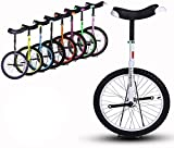 ZWH Fahrräder Einrad Ausgezeichneter Einrad-Balance-Fahrrad Für Hohe Leute Riders 175-190cm,...