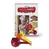 Kinderleichte Becherküche Band 5- 3 Messbecher und ein Rezeptbuch mit 10 Rezepten, Plätzchen,...