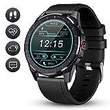 Smartwatch GOKOO Fitness Tracker Herren Männer Sportuhr IP68 Wasserdicht Aktivitätstracker Mit...