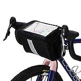 Fahrradlenkertasche Reflective Fahrrad-Telefon-Halter-Beutel-Beutel-Aluminiumfolie Liner...