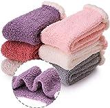 ANTSANG Grils Fuzzy Damen Socken, weich, warm, flauschig, niedlich, gemütlich, Wintersocken - -...