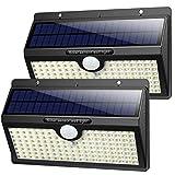 Solarlampen für Außen mit Bewegungsmelder,【2019 Superhelle 138LED-1400Lumen】iPosible Solar...
